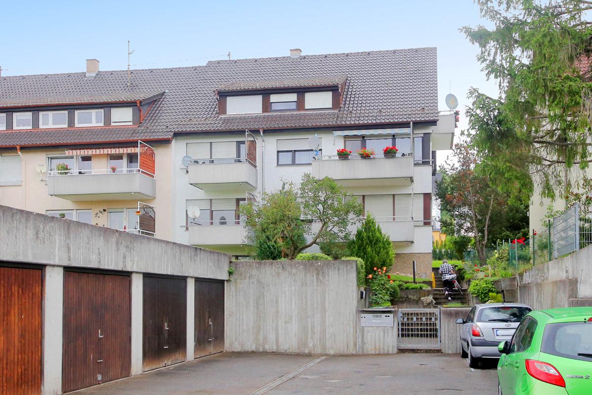 Optimale Kapitalanlage: Zwei Appartements inklusive Garage in Korntal-