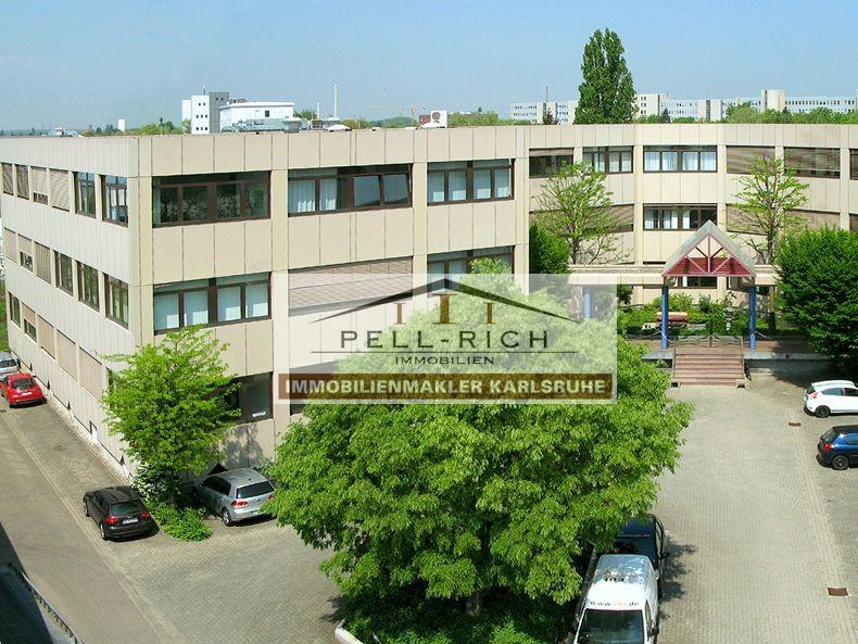 Büro in Karlsruhe West mit TOP-Anbindung