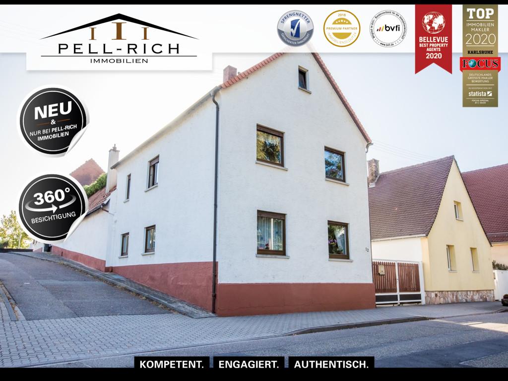 LEBENSLUST PUR: Einzigartiges Einfamilienhaus mit Pool und drei Garage