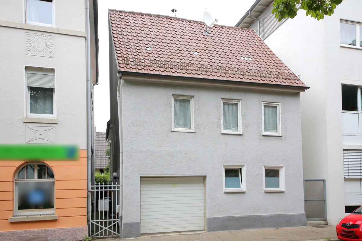 Einfamilienhaus in zentraler Lage von Göppingen mit Garage und Ausbaup
