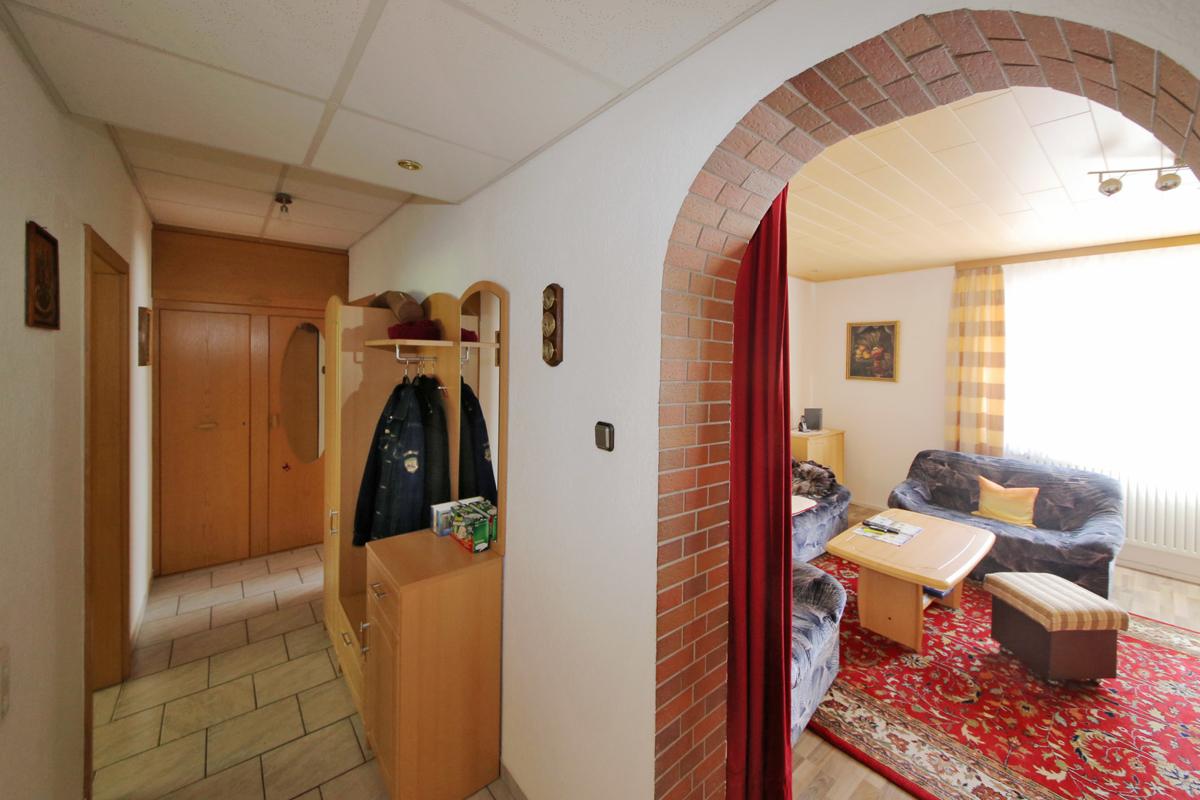 Gepflegte vermietete 3-Zimmer-Wohnung in zentraler Lage