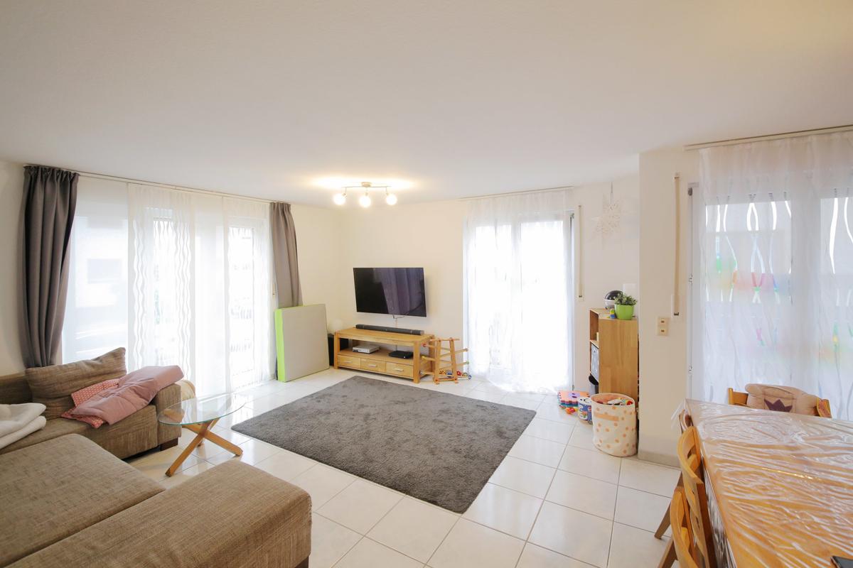 Einziehen und wohlfühlen! Schöne 3-Zimmer-Wohnung mit großer Terrasse