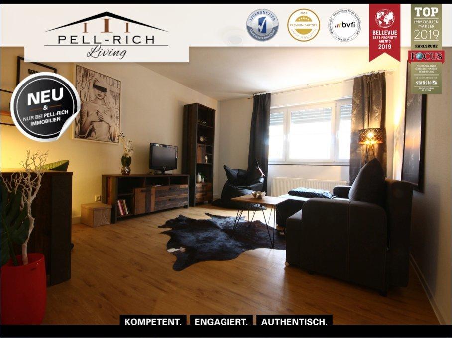 FLAIR: Vollmöblierte und renovierte Mietwohnung mit Balkon inkl. Inter