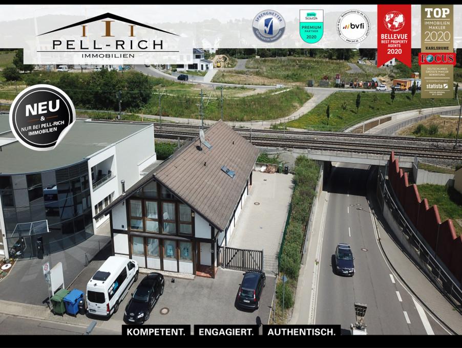 DAS ZEUG ZUM ERFOLG: Gut vermietetes Wohn- und Geschäftshaus in Pfinzt