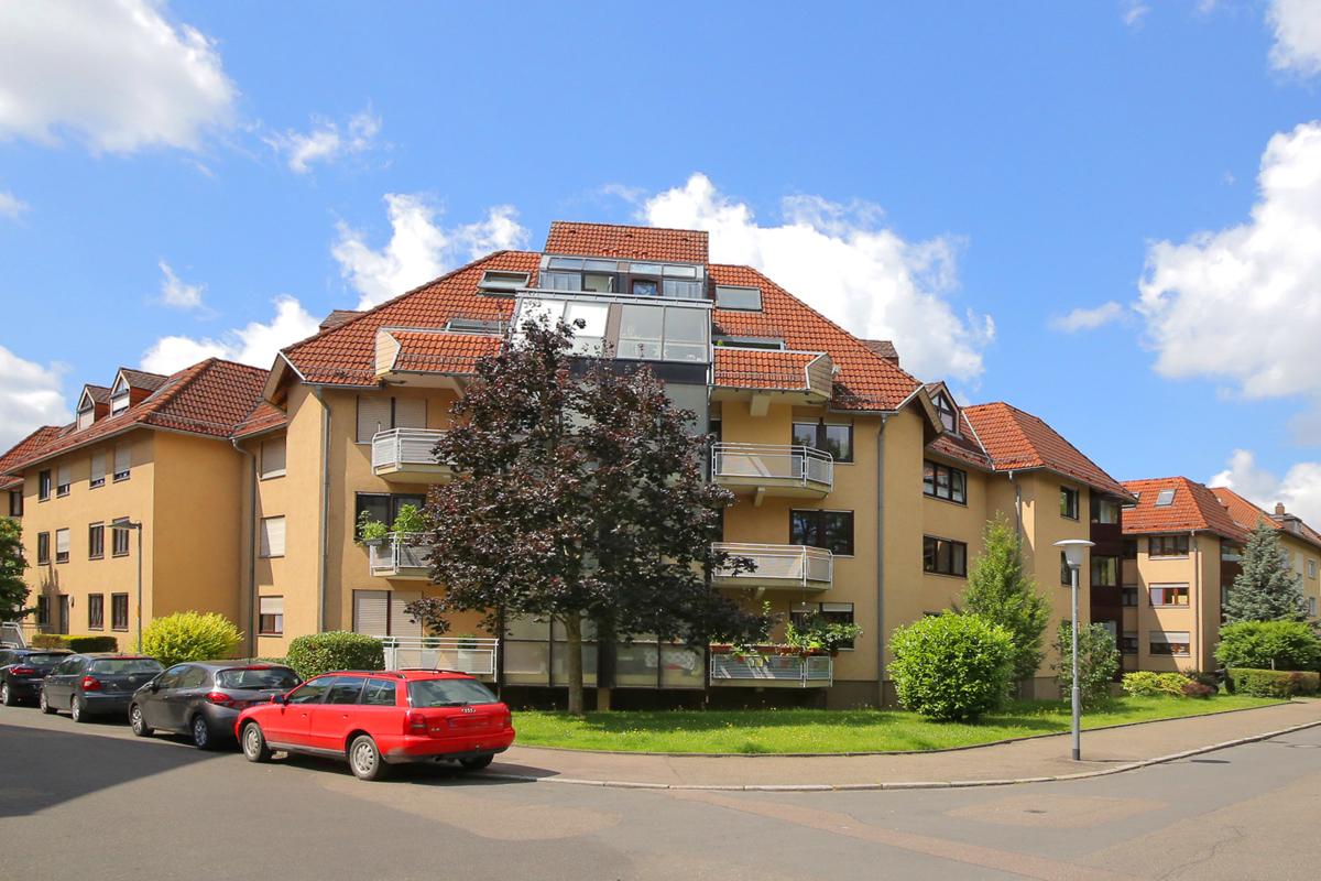 Gepflegte 2-Zimmer-Wohnung im Herzen von Heilbronn