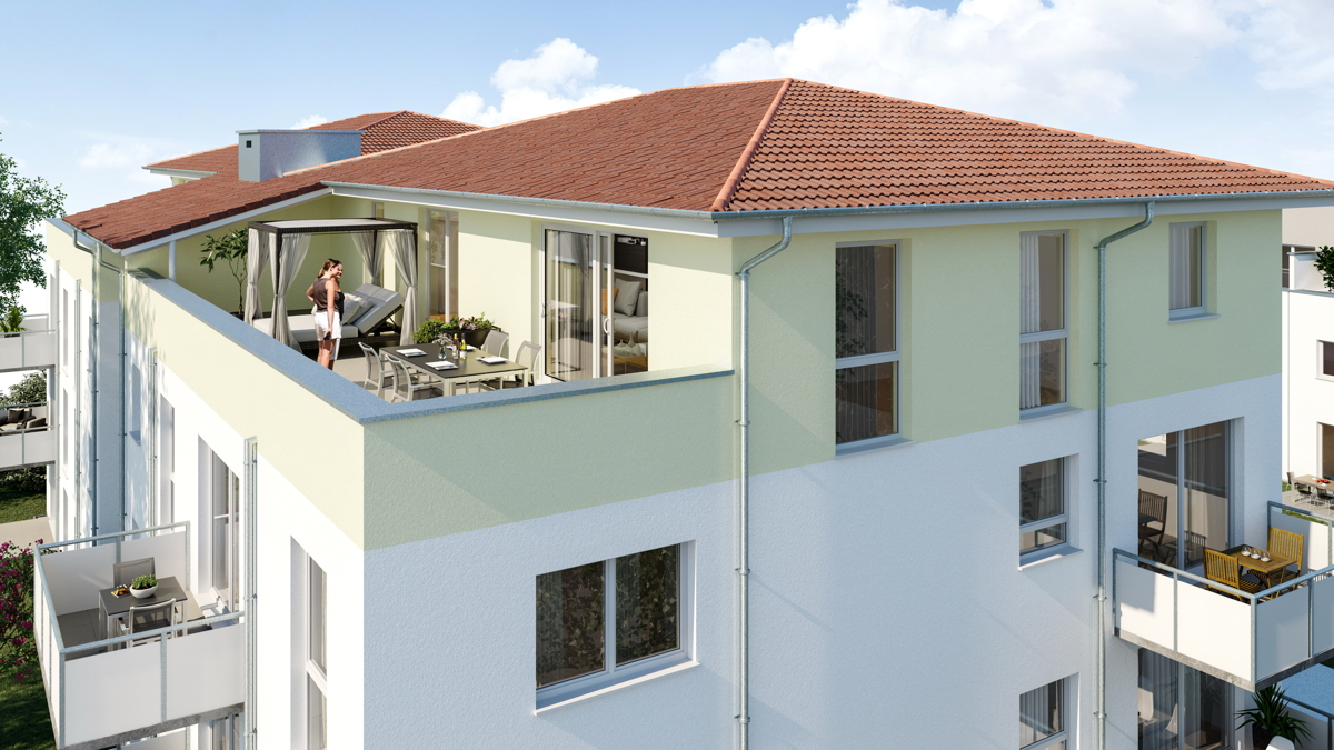 Renditestarkes Mehrfamilienhaus mit durchdachten Grundrissen