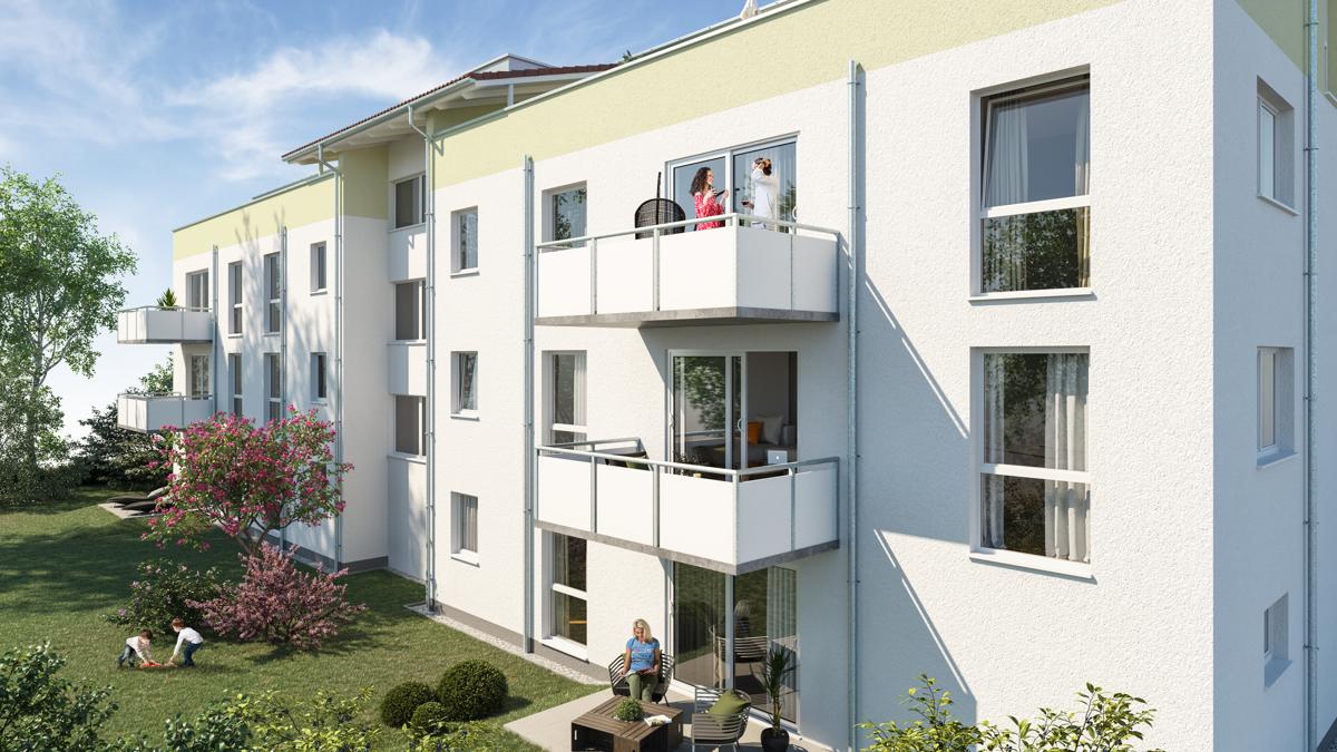 Hochwertiges projektiertes Mehrfamilienhaus als Renditeobjekt in Bestl