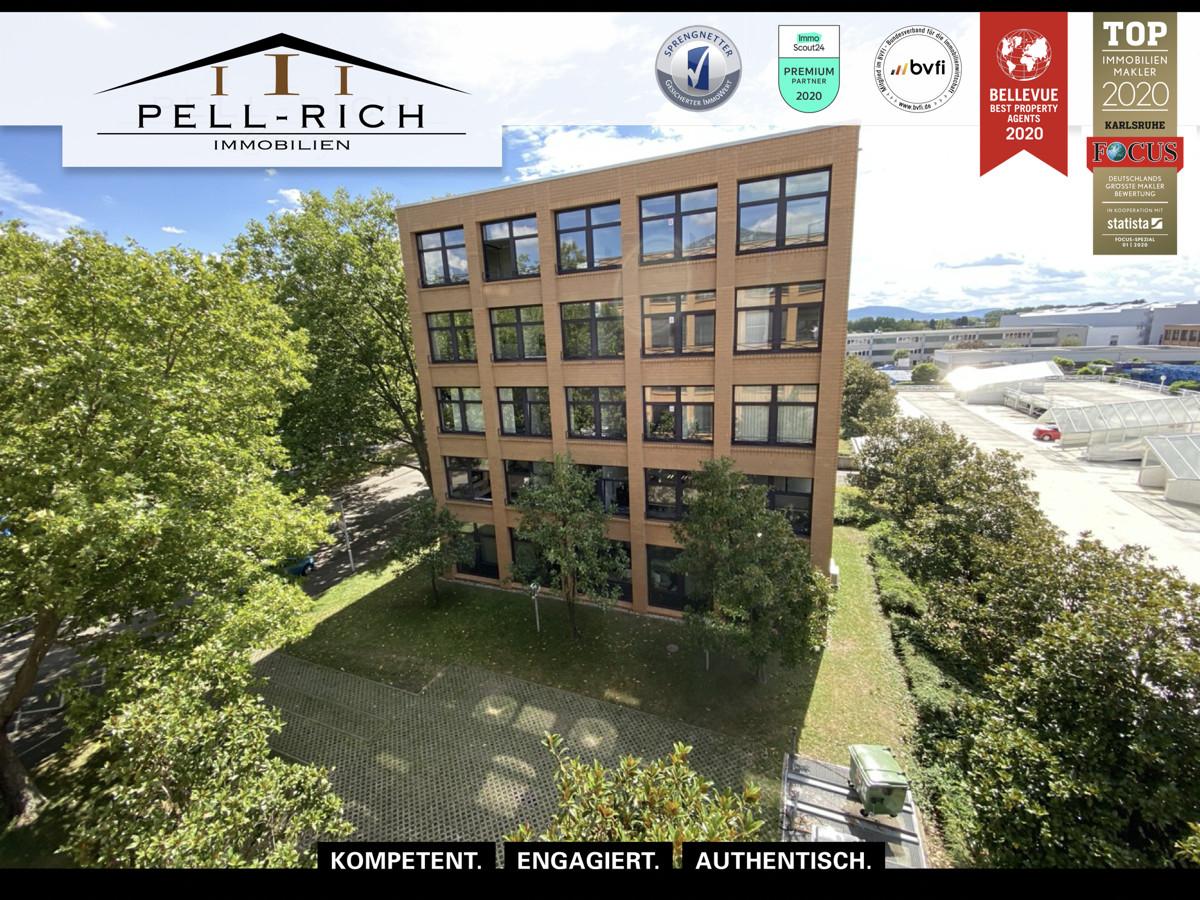 QUADRATISCH UND PRAKTISCH: Hervorragende Büroflächen in Ettlingen-West