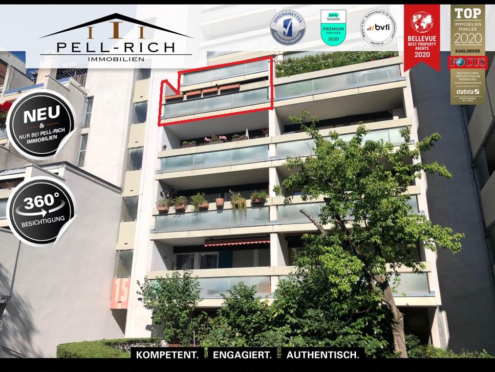 MIET MICH: Sofort verfügbare Wohnung mit TG-Stellplatz und 2 Balkone i