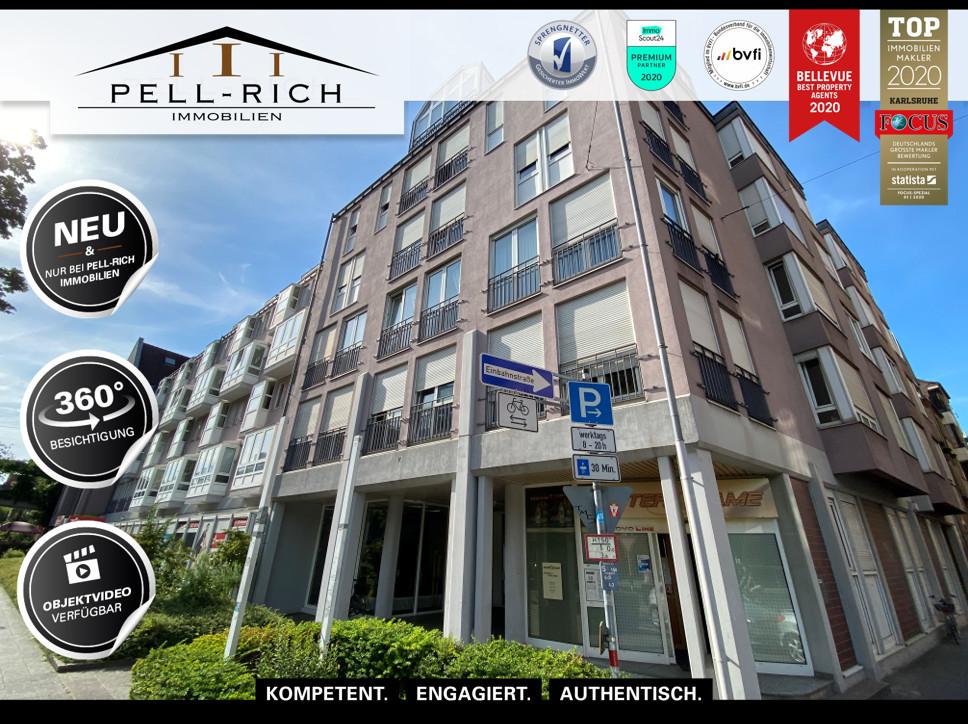 SHOWTIME: Zentrale & barrierefreie Wohnung in Karlsruher Weststadt