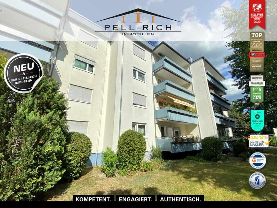 ROHDIAMANT: Vermietete Eigentumswohnung mit Balkon in ruhiger Lage von