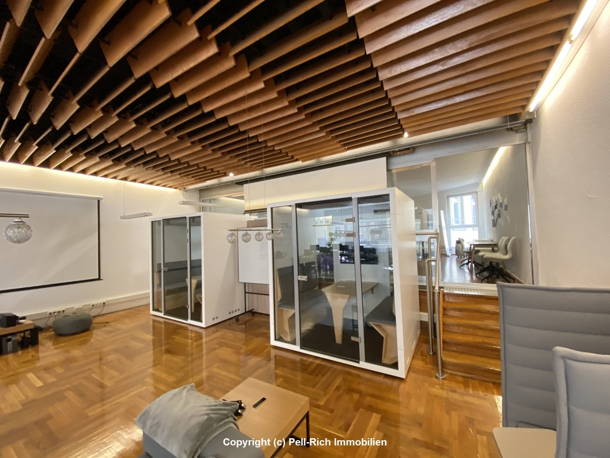 FÜR KLUGE KÖPFE: Möblierte und klimatisierte Bürofläche in bester Inne