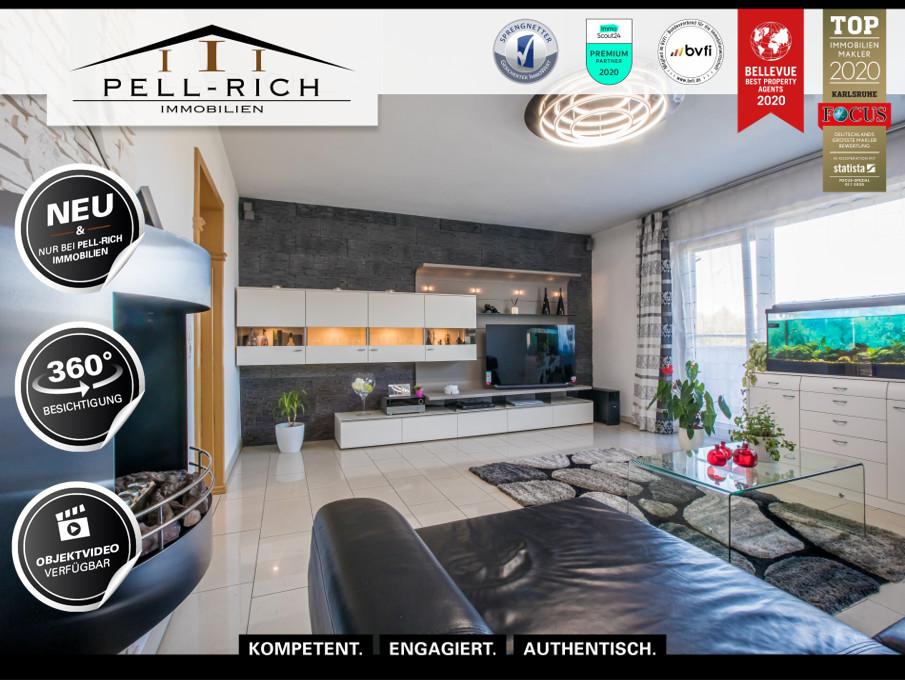 URLAUB AUF BALKONIEN: 3-Zimmer Wohnung mit Balkon und Garagenstellplat