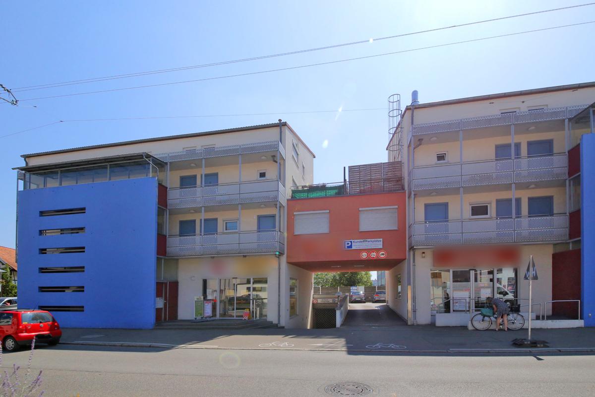 1-Zimmerwohnung mit Balkon und Tiefgaragenstellplatz