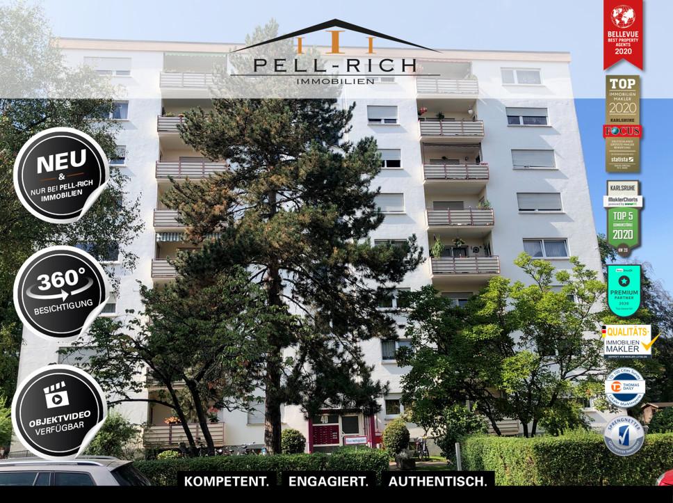VISION: Gut geschnittene Erdgeschosswohnung mit Loggia und TG-Stellpla