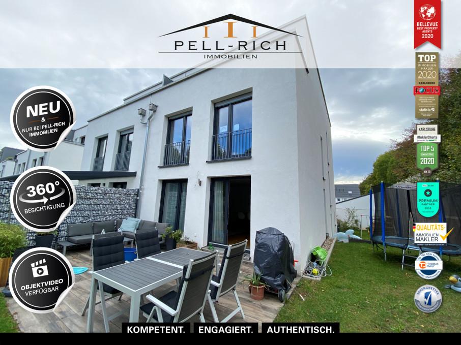 WOHNGLÜCK MIT STIL: Moderne Doppelhaushälfte mit 188m² in Rastatt