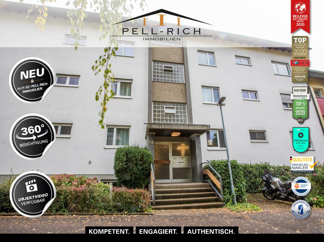 BERGBLICK: Gut geschnittene Dachgeschosswohnung mit Keller und Stellpl