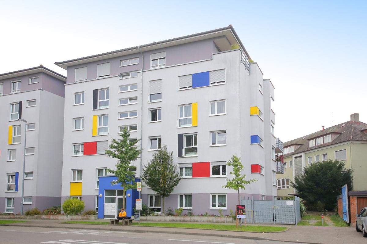 Offen und hell: 3-Zimmer Wohnung mit Einbauküche