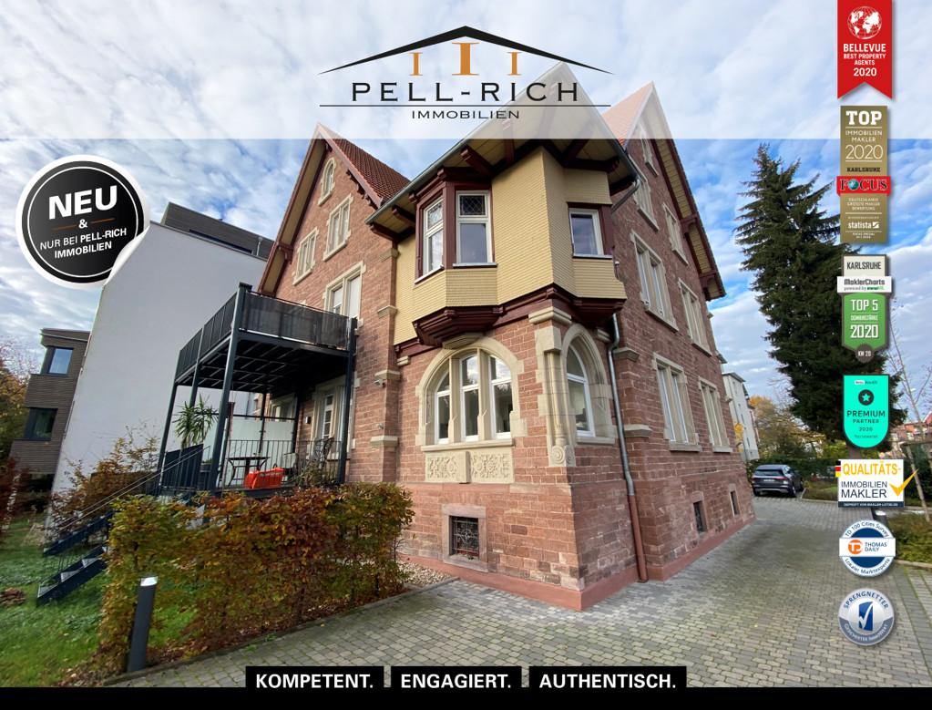 WOHNEN VOM SCHÖNSTEN: Sanierte 3-Zimmer Altbauwohnung mit Stellplatz u