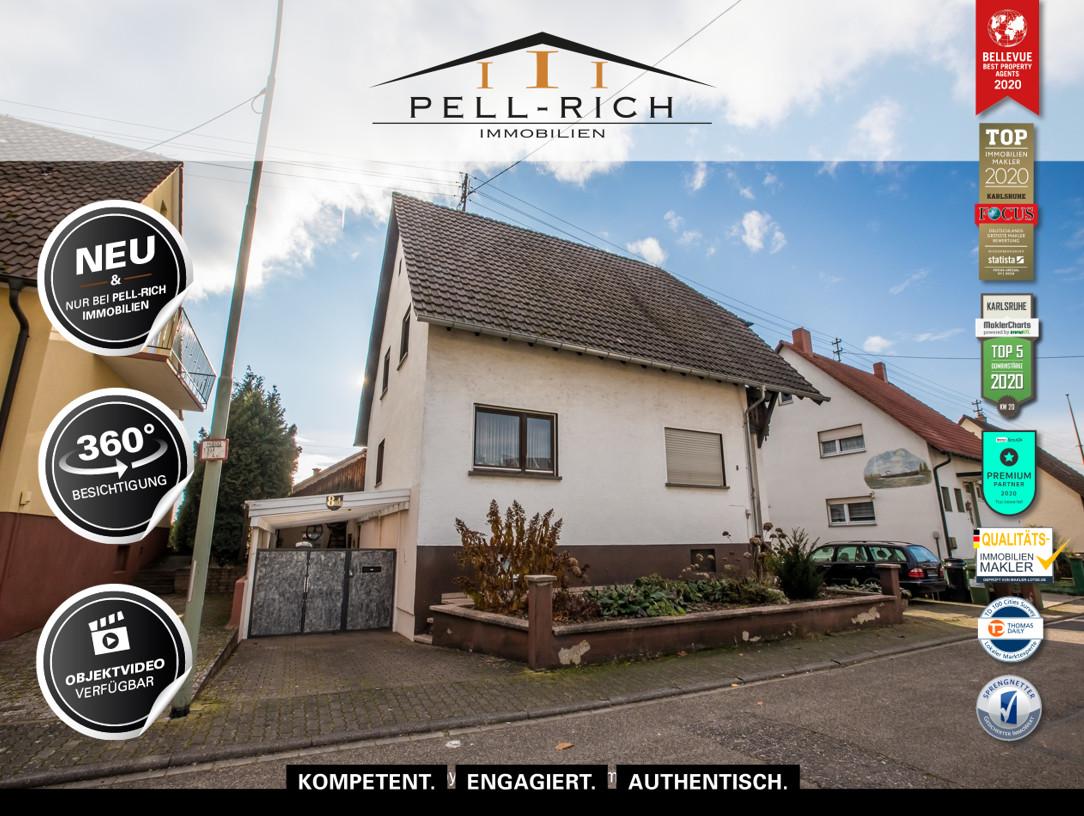 VISION: Sanierungsbedürftiges Einfamilienhaus in Leimersheim