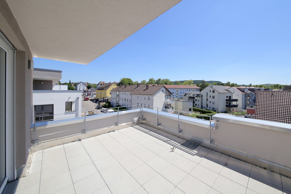 3-Zimmer-Penthouse-Wohnung mit grandiosem Blick über Heilbronn
