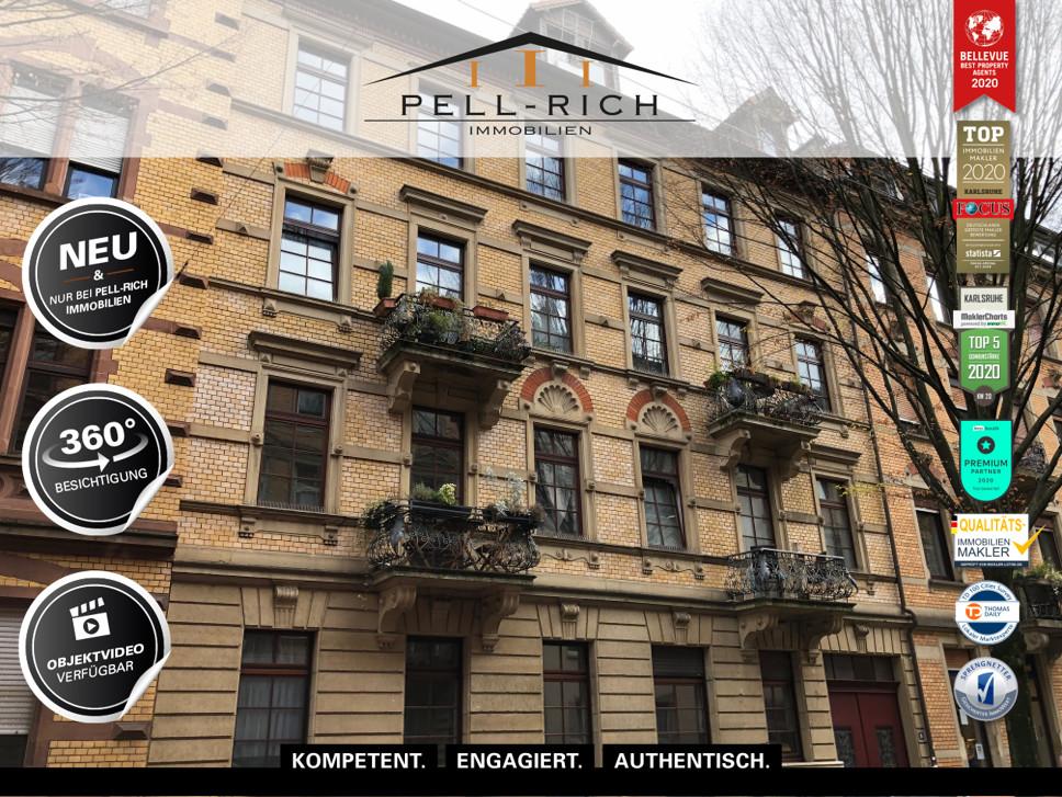WOHNSIEGER: 4 Zimmer Hochparterre Wohnung im denkmalgeschützten Altbau