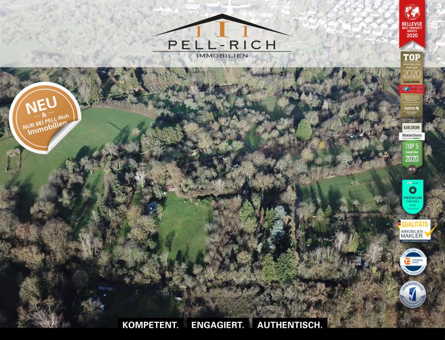 RUHEPOL: Großzügiges Freizeitgrundstück in Bruchsal zu veräußern