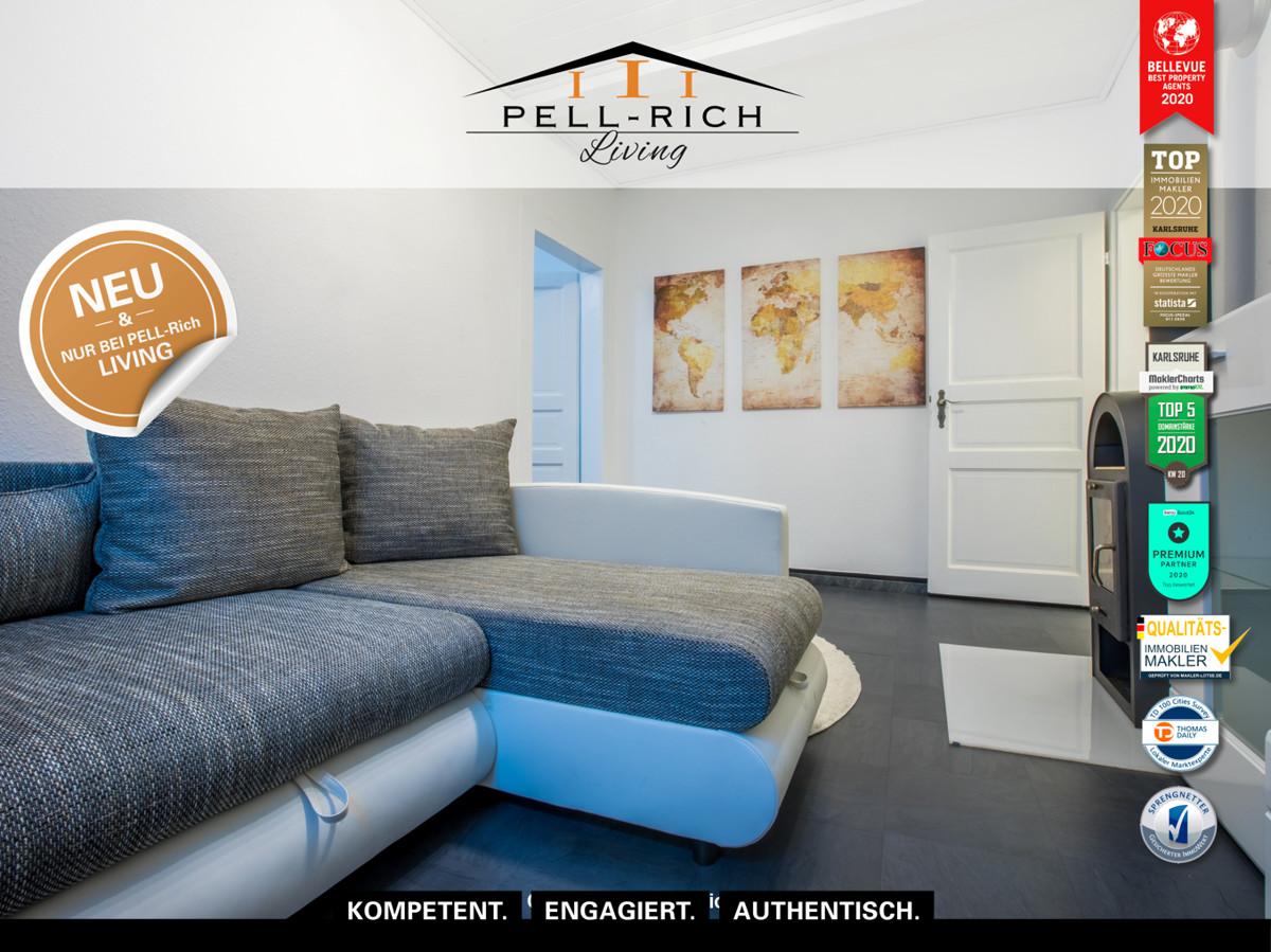 2-Zimmer Wohnung mit S-Bahn Anschluss, Keller, vollmöbliert inkl. alle