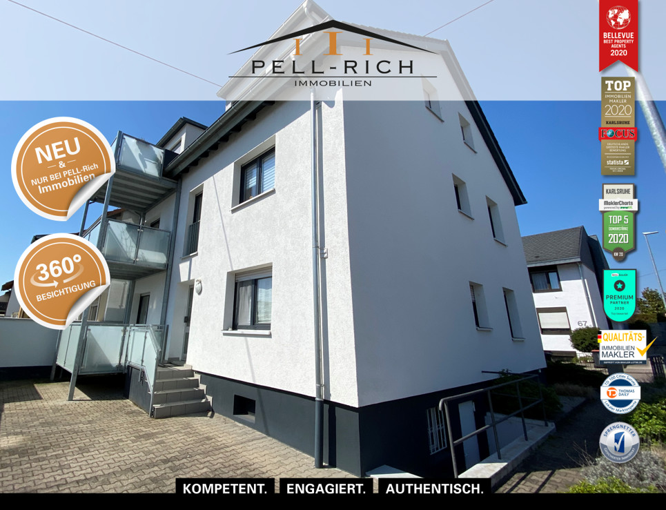 MIET MICH: 3-Zimmer Mietwohnung mit Balkon in Neureut sucht neuen Miet