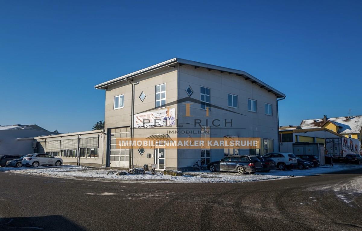 Werkstattgebäude mit Büroflächen in Stutensee-Blankenloch
