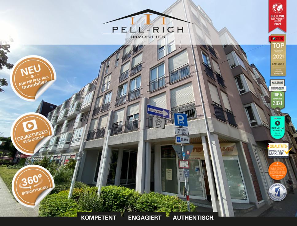 KÄUFERPROVISIONSFREI: Zentrale Wohnung in Karlsruher Weststadt inkl. T