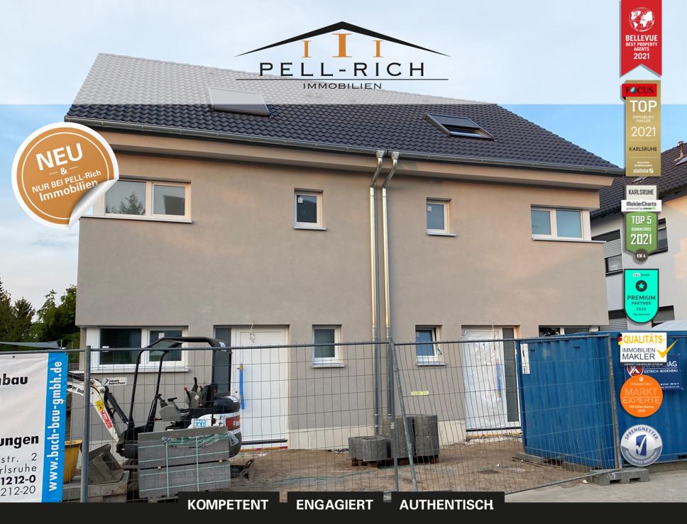 WUNSCHLOS GLÜCKLICH: 2 Neubau-Doppelhaushälften ab 01.07.21 zu vermiet