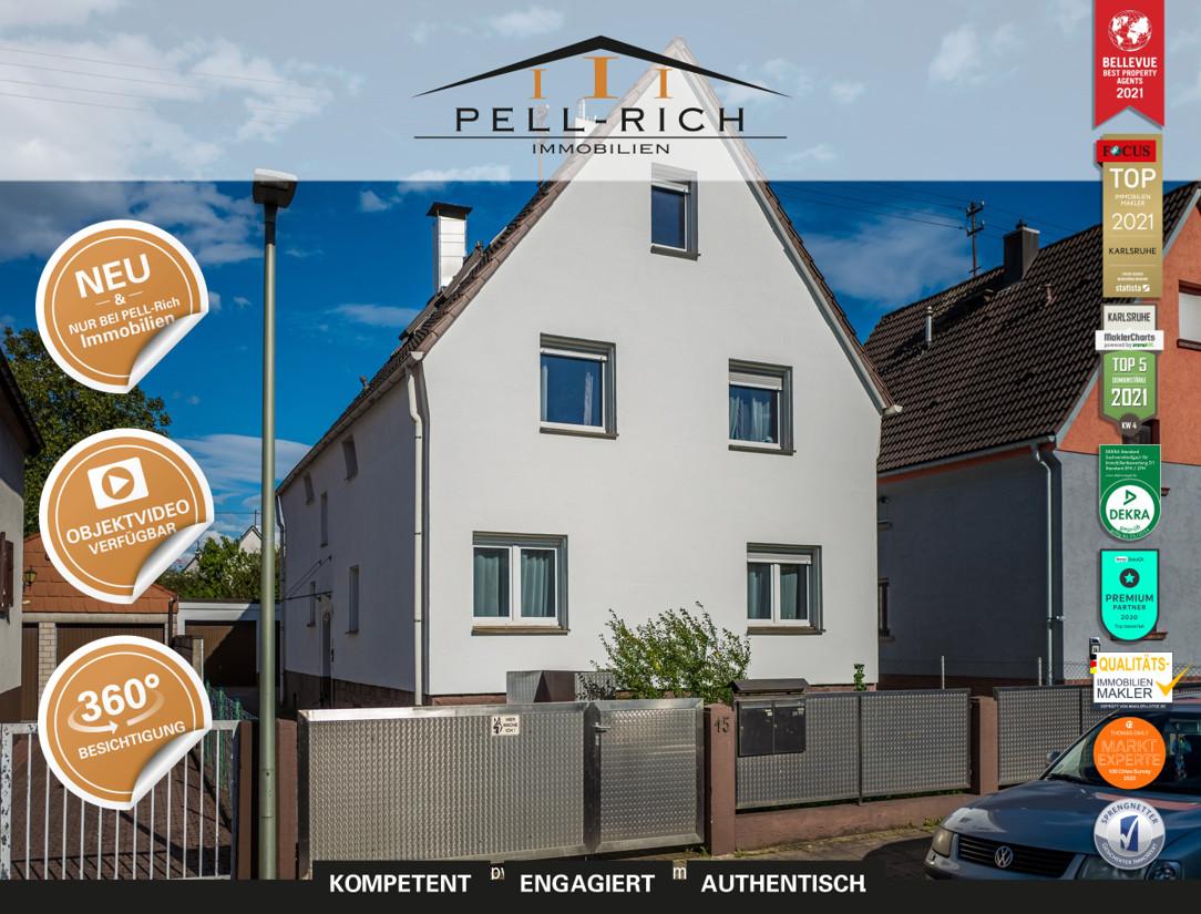 MEHRGENERATIONENHAUS: Mehrfamilienhaus mit 3 Wohnungen in Hagsfeld