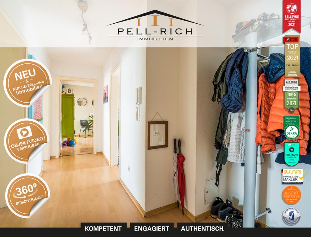 VIERKLANG: Bezugsfreie 4-Zimmer Wohnung nahe Citypark in Karlsruhe ink