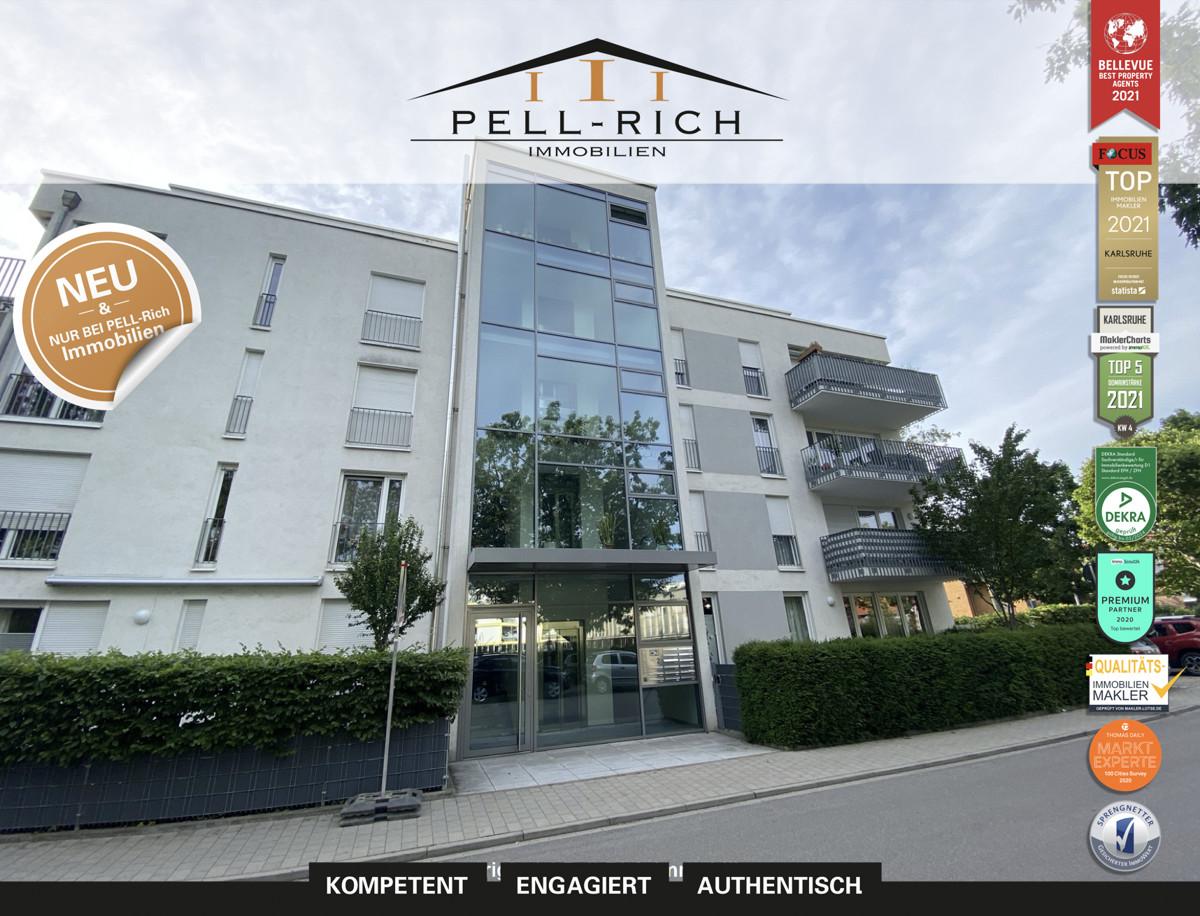 MIETTRAUM: Barrierefreie 2-Zimmer Wohnung mit Balkon und Stellplatz im