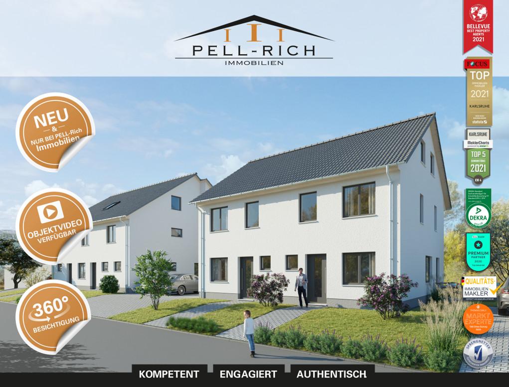 SEEBLICK: Zwei Neubau-Reiheneckhäuser sowie ein Mitteilhaus inkl. Auße