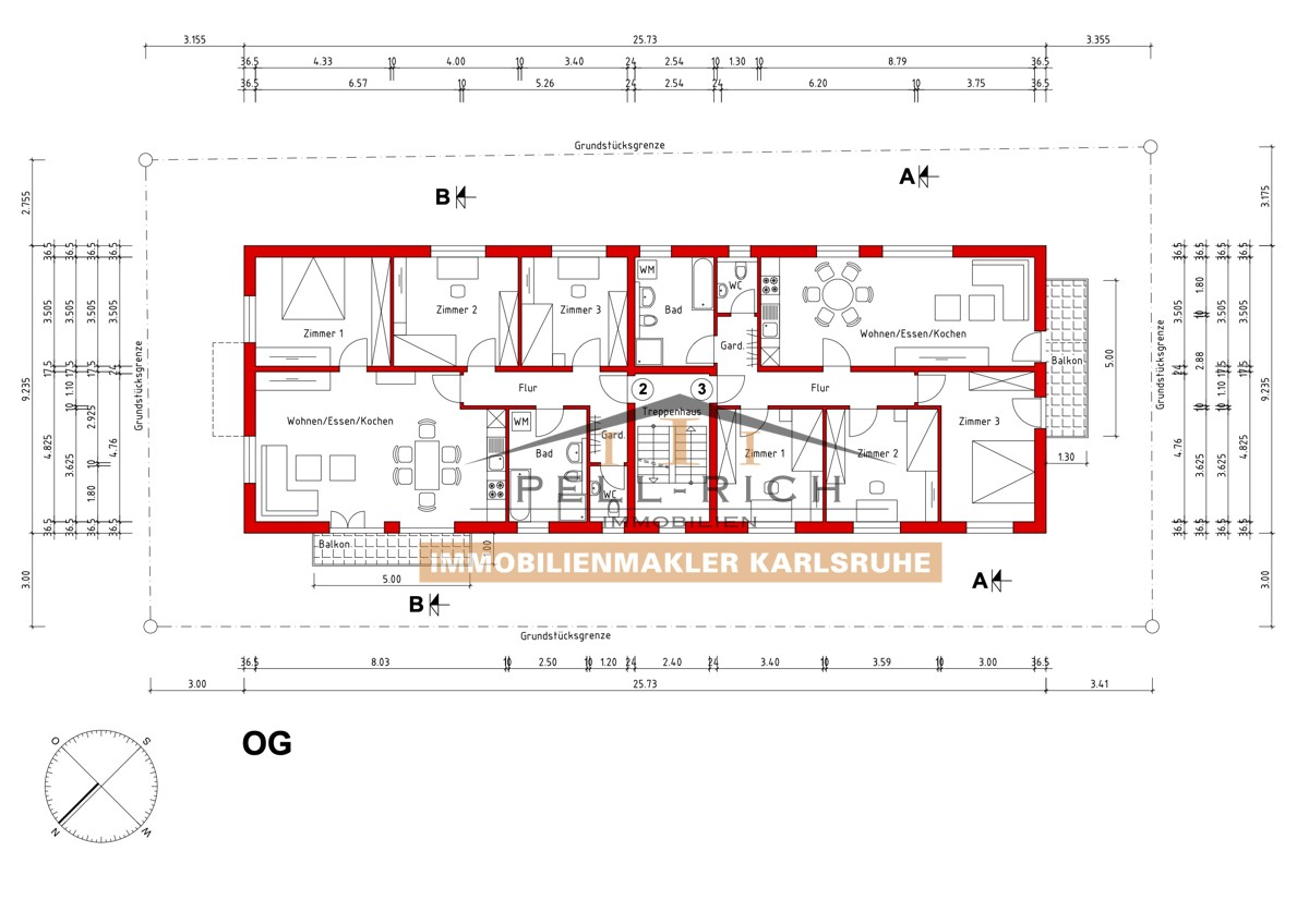 WOHNGLÜCK: 3 Neubaumietwohnungen je inkl. Außenstellplatz ab 01.11.21